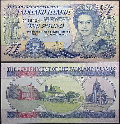 Falkland Pound 1984