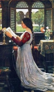 John William Waterhouse - The Missal