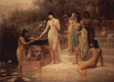 The Finding of Moses - Edwin Long