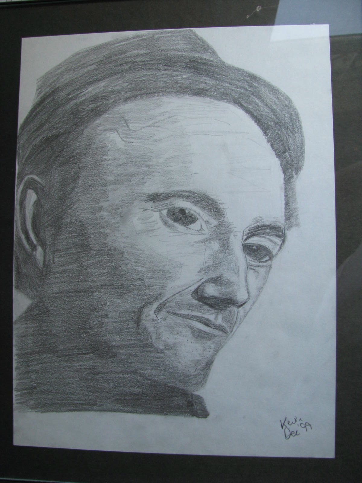 Drawing: Woody Guthrie