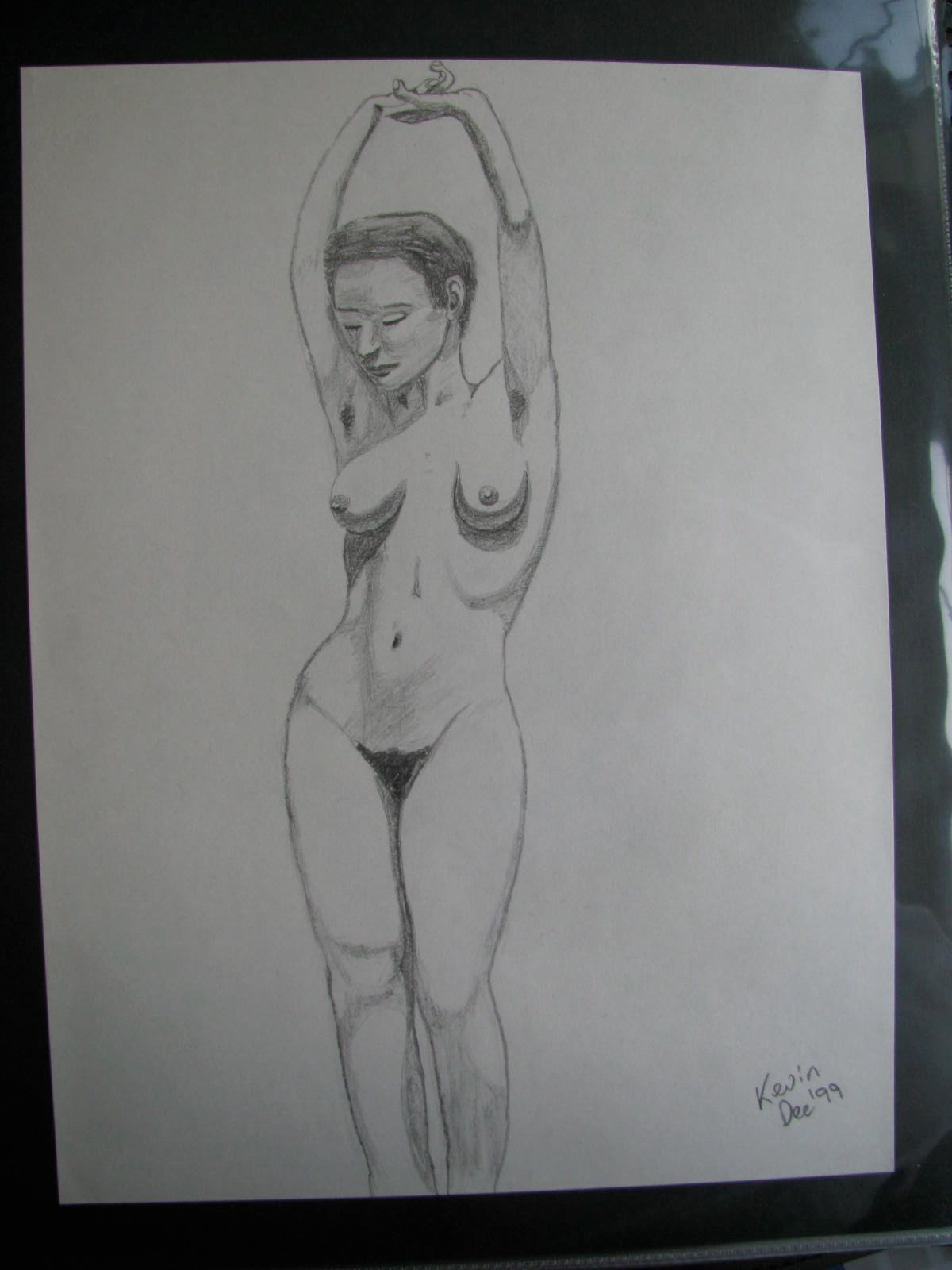 Drawing: Nude Standing