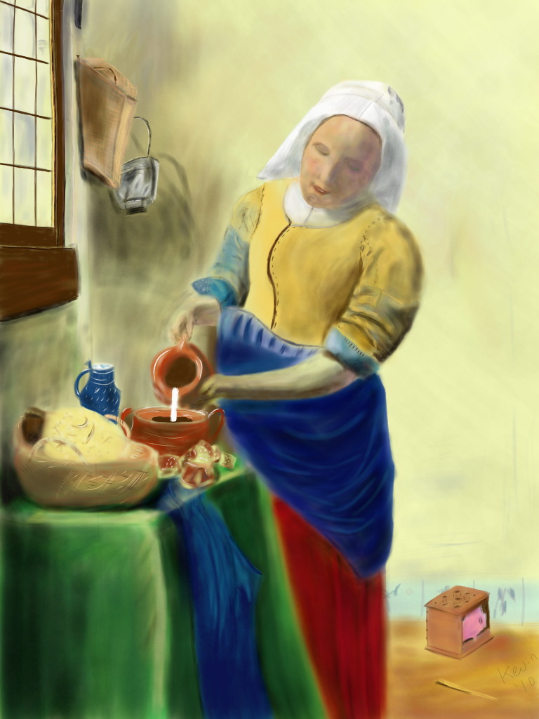 The Cook (after Vermeer)