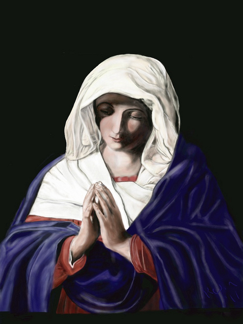 Virgin at Prayer