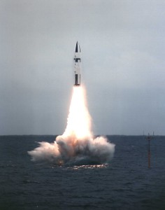 Polaris Missile Launched from HMS Revenge